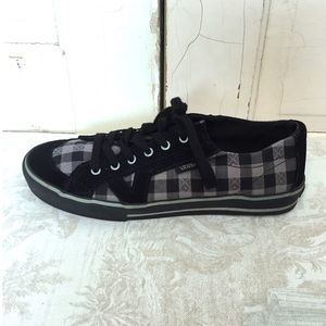Vans Checkered Lace Up Sneakers